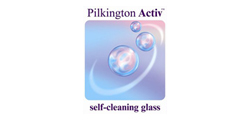 Pilkington Activ self-cleaning glass used in our products
