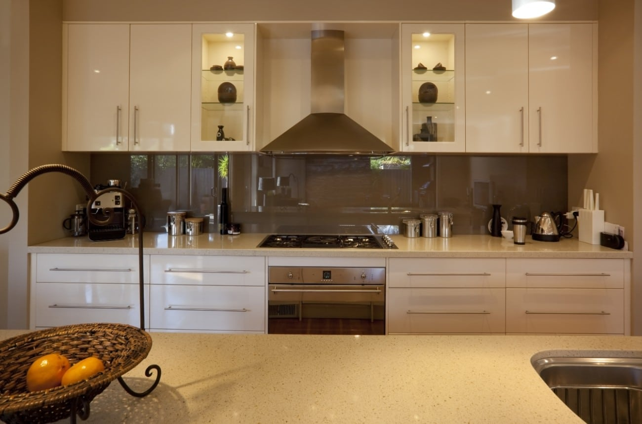 Kitchen splashbacks in Mitcham